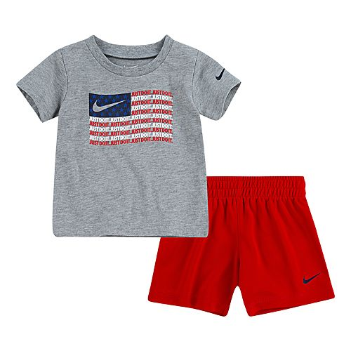 3ac717404022 Baby Boy Nike Americana Tee & Shorts Set
