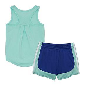 Toddler Girl adidas Tank & Shorts Set