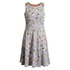 e714e2b13 Girls 7-16 Emily West Knit Reversible Dress. sale. $27.99