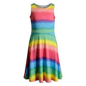 Girls 7-16 Emily West Knit Reversible Dress