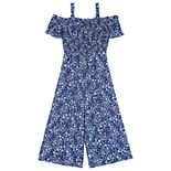 Girls 7-16 IZ Amy Byer Off-the-Shoulder Jumpsuit
