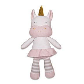Living Textiles Baby Plush Animal Toy