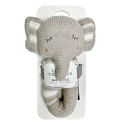 Living Textiles Baby Knit Rattle