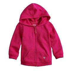 Baby Girl Jumping Beans® Fleece Zip Hoodie