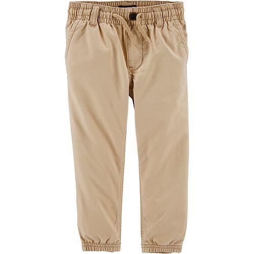 Toddler Boy OshKosh B'gosh® Twill Jogger Pants