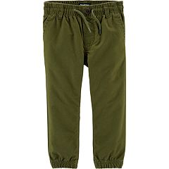 Toddler Boy OshKosh B'gosh® Twill Jogger Pants