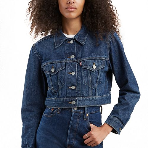 Women's Levi's® Cropped Jean Trucker Jacket