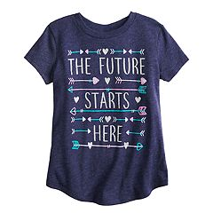 Girls 4-12 Jumping Beans® 'The Future Starts Here' Graphic Tee