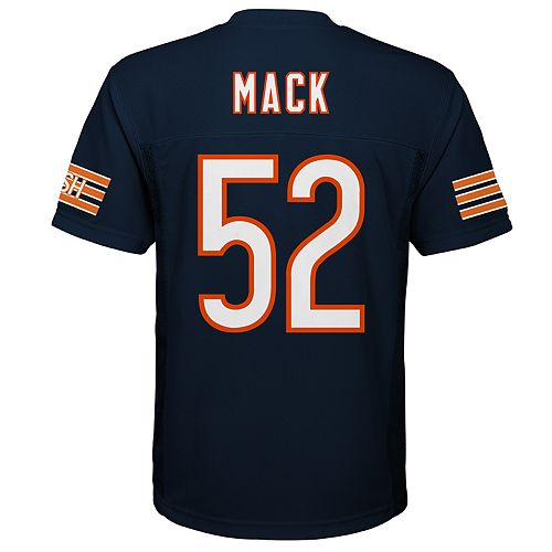 factory price 68541 1f4d4 Boys 8-20 Chicago Bears Khalil Mack Jersey