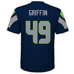 Boys 8-20 Seattle Seahawks Shaquem Griffin Jersey