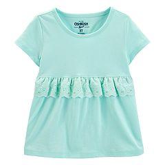 Toddler Girl OshKosh B'gosh® Eyelet Ruffle Top