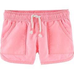 Toddler Girl OshKosh B'gosh® Twill Dolphin-Hem Shorts