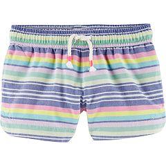 Toddler Girl OshKosh B'gosh® Print Dolphin-Hem Twill Shorts
