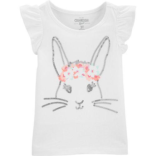 Toddler Girl OshKosh B'gosh® Sequined Graphic Top