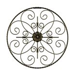 Lavish Home Medallion Metal Wall Art