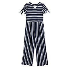a9e038f7db Girls 7-16 My Michelle Striped Jumpsuit
