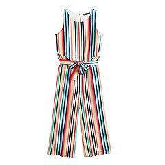0f81ec9d2 Girls 7-16 My Michelle Striped Crop Jumpsuit