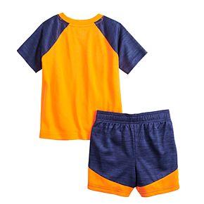 Baby Boy Jumping Beans® Active Raglan Tee & Shorts Set