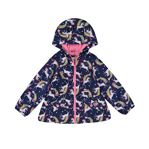 cbffd72a5 Toddler Girl Carter's Midweight Hooded Anorak Jacket