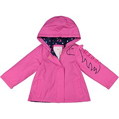Toddler Girl Carter's Midweight Hooded Unicorn Jacket