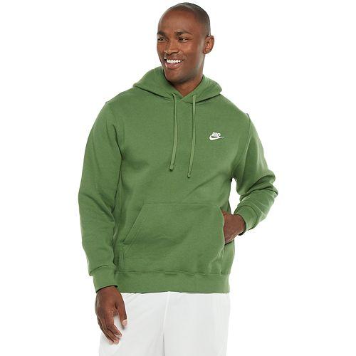nike fleece club hoodie