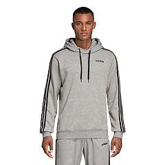 Men's adidas Triple-Stripe Essential Pullover Hoodie