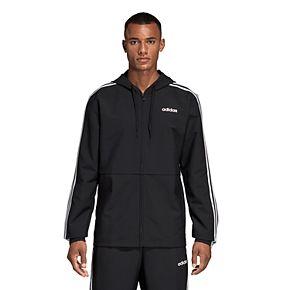Men's adidas Essential Striped Windbreaker