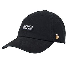7b4dc6d19ec Mens Black Baseball Cap Hats - Accessories