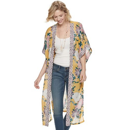 Women's SONOMA Goods for Life™ Floral Duster