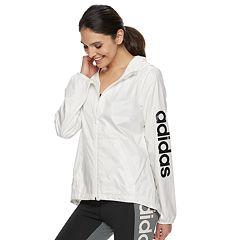 Women's adidas Essential Linear Windbreaker Jacket