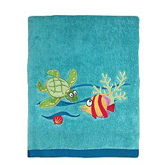 Allure Home Fish Tails Bath Towel