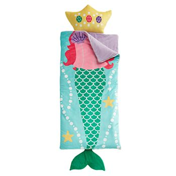 Dream Factory Mermaid Sleeping Bag with Pillow
