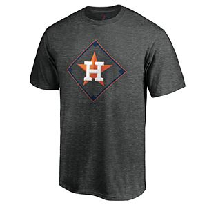 Men's Majestic Houston Astros Just Getting Started Graphic Tee