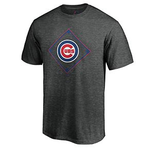 Men's Majestic Chicago Cubs Just Getting Started Graphic Tee