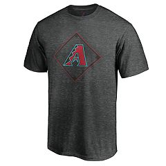 Men's Majestic Arizona Diamondbacks Just Getting Started Graphic Tee
