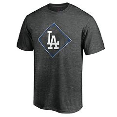 Men's Majestic Los Angeles Dodgers Just Getting Started Graphic Tee