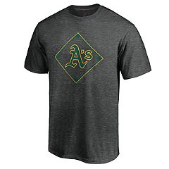 96f3ae84 Men's Majestic Oakland Athletics Just Getting Started Graphic Tee