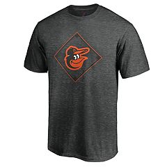 Men's Majestic Baltimore Orioles Just Getting Started Graphic Tee