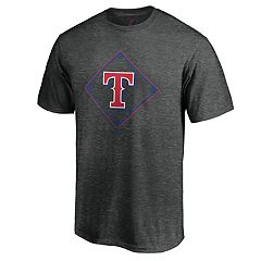 Men's Majestic Texas Rangers Just Getting Started Graphic Tee