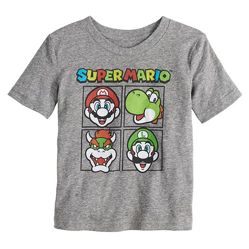Toddler Boy Jumping Beans® Super Mario Bros. Grid Graphic Tee