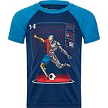 Boys 4-7 Under Armour Soccer Raglan Tee