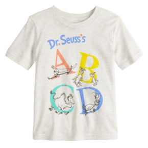 """Toddler Boy Jumping Beans® Dr. Seuss """"ABCD"""" Graphic Tee"""