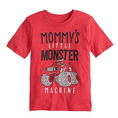 Toddler Boy Jumping Beans® 'Mommy's Little Monster Machine' Blaze Graphic Tee