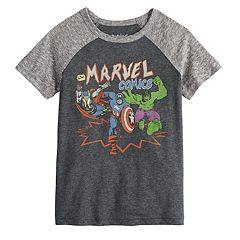 Toddler Boy Jumping Beans® Marvel Comics Raglan Graphic Tee