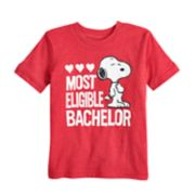 "Toddler Boy Jumping Beans® Peanuts Snoopy ""Most Eligible Bachelor"" Graphic Tee"