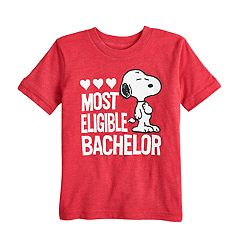 Toddler Boy Jumping Beans® Peanuts Snoopy 'Most Eligible Bachelor' Graphic Tee