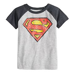 Toddler Boy Jumping Beans® DC Comics Superman Raglan Graphic Tee