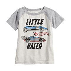 Toddler Boy Jumping Beans® Hot Wheels 'Little Racer' Raglan Tee