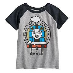 Toddler Boy Jumping Beans® Thomas the Train Raglan Graphic Tee