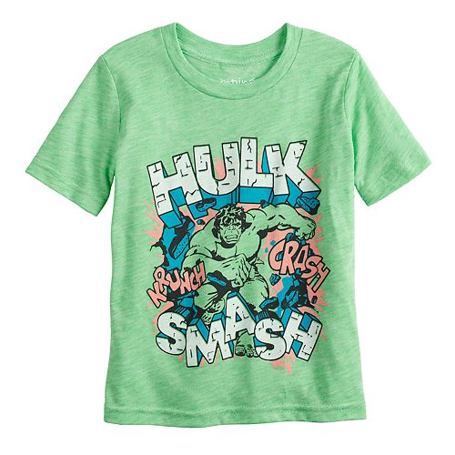 9fbfddc1 Toddler Boy Jumping Beans® Marvel The Hulk Graphic Tee